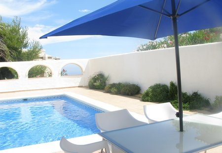 Villa in Cumbre del Sol, Spain: Luxury 2 bed villa with private pool in arched courtyard