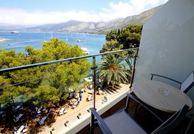 Nice hotel accommodation in Cavtat, directly by the sea