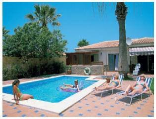 Villa in Spain, Callao Salvaje: The gorgeous pool area