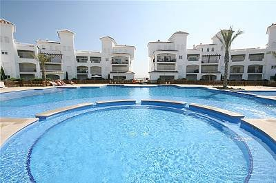 Apartment in Spain, La Torre Golf Resort: View Of The Apartment Across The Pool