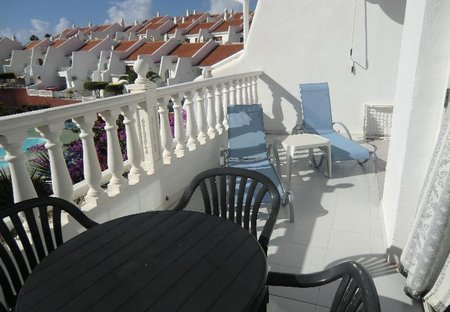 Apartment in Golf del Sur, Tenerife: Lovely sunny balcony