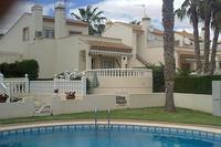 Villa in Spain, Playa Flamenca: Villa viewed from pool area