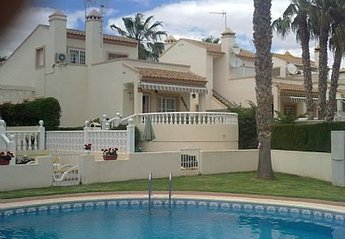 Villa in Spain, Las Piscinas: Villa viewed from pool area