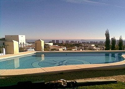 Villa in Spain, Golf Bahía: View from the Villa Pool