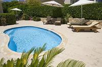 Apartment in Cyprus, Peyia: Private Pool and Enclosed Garden
