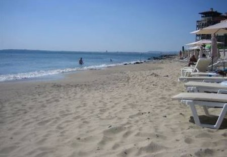 Apartment in Sveti Vlas, Bulgaria: The Private Beach Metres Away From The Apartment
