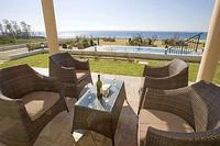 Villa in Cyprus, Seacaves: Front Terrace and View