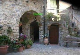 casa daniela, center of ceriana, 12 kms san remo, on a hill.