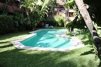 Apartment in Spain, Golden Mile: Swimming pool set in mature gardens