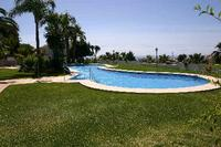 Apartment in Spain, Calahonda: Excellent pool area with views to North Africa
