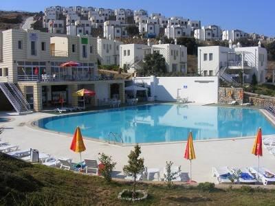 Villa in Turkey, Gumusluk: pool view 2