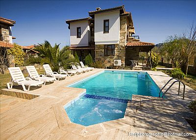 Villa in Turkey, Dalyan: Private Pool,with jacuzzi /child pool!!