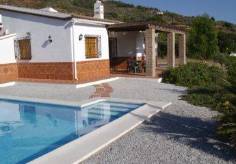 Country House in Spain, Canillas de Albaida: THE HOUSE FRONT