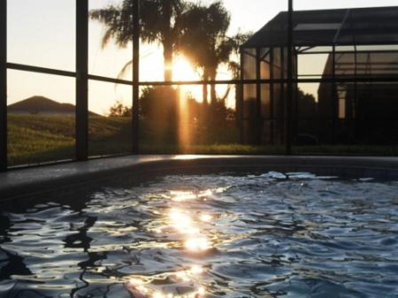 Villa in USA, West Stonebridge: Relax and watch the sunset go down