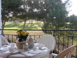 Apartment in Spain, Torrevieja: Terrace overlooking Villagolf Golf Course