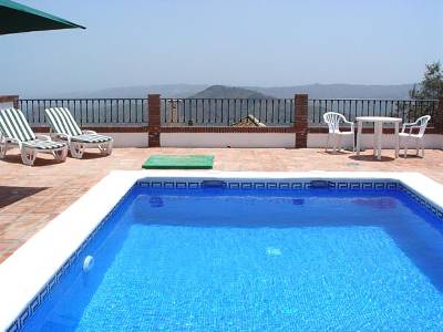 Apartment in Spain, Comares: The Pool