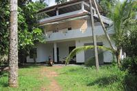 House in Sri Lanka, Hikkaduwa: Front Elevation