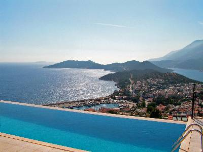 Apartment in Turkey, Kas: View overlooking the sea and the peninsula