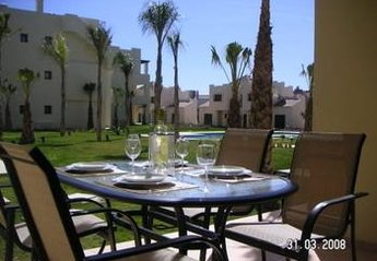 Apartment in Spain, Roda Golf and Beach Resort: Terrace View