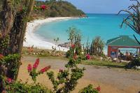 Apartment in Antigua and Barbuda, Jolly Harbour: View from Denniss Beach Bar