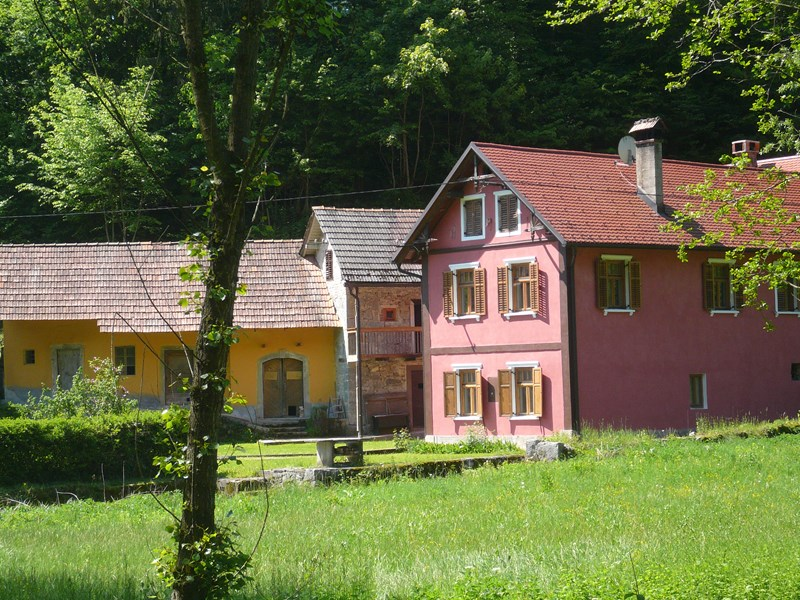 Country house in Slovenia, Dolenjske: Venckov historic mill and old smithy