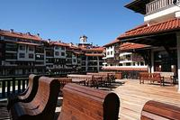 Apartment in Bulgaria, Bansko: Outside Bar/ Restaurant Area
