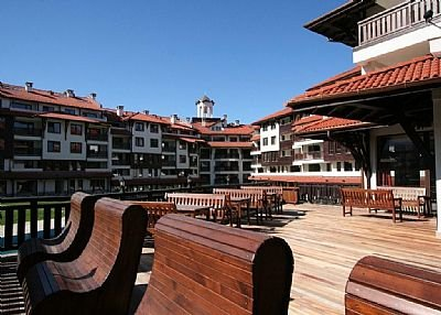 Apartment in Bulgaria, Bansko: Outside Bar/ Restaurant Area