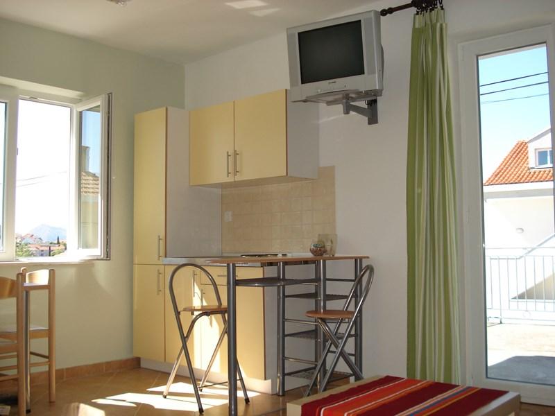Studio apartment in Croatia, Lapad