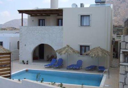 Villa in Lagkada, Crete: Artemis Villa with private swimming pool