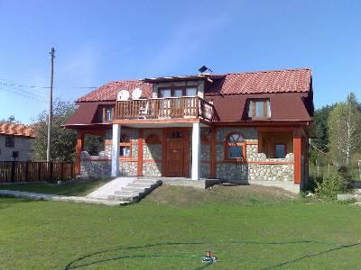 Village house in Bulgaria, Samokov: house front