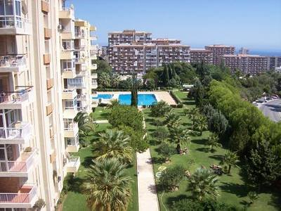Apartment in Spain, Benalmádena Costa: Gardens and Pool