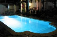 Studio_apartment in Mauritius, Trou Aux Biches: Pool at night