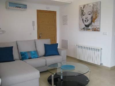 Apartment in Spain, Hacienda Riquelme Golf Resort: The lounge