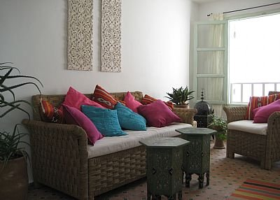House in Morocco, Essaouira: living room