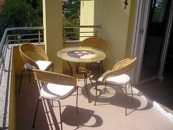 Apartment in Croatia, Vodice: Our balcony