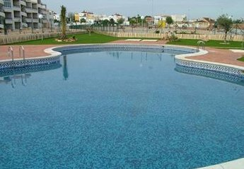 Apartment in Spain, La Cinuelica: COMMUNAL POOL