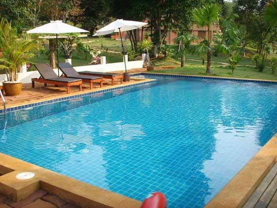 Villa in Thailand, Koh Mak: Resort Pool