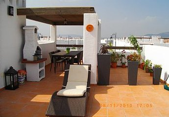 Apartment in Spain, Condado de Alhama (Polaris Golf Resort): Private Solarium