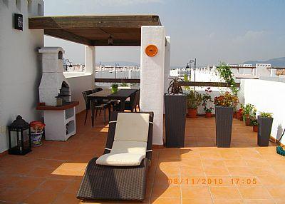 Apartment in Spain, Condado de Alhama (Polaris Golf Resort): Private Solarium