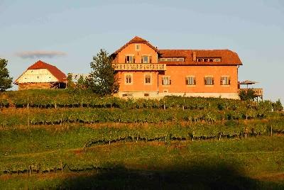 Country house in Slovenia, Majski Vrh: Hisa Vina, on top of a Private Hill
