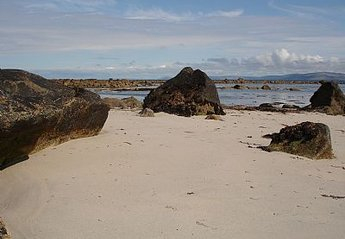 Cottage in Ireland, Spiddle: Beach near the Villa