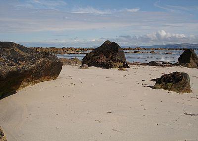 Cottage in Ireland, Spiddle: Beach near the Villa