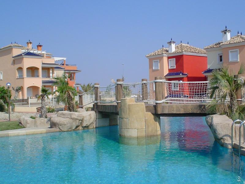Apartment in Spain, Sucina: One of the lovely pools