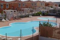 Villa in Spain, Campo de golfe: communal pool - view from villa