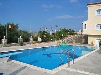 Villa in Greece, Gouves: Pool