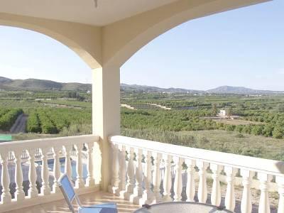 Villa in Spain, Alberic: Dining Terrace
