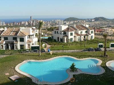 Apartment in Spain, FINESTRAT: View from the Apartment