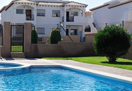 Apartment in La Cinuelica, Spain: Apartment (View from Pool)