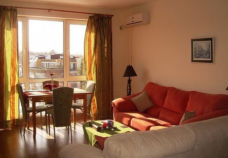 Apartment in Sunny Beach, Bulgaria: Lounge