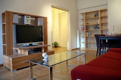Apartment in Greece, Athens City: Living room (g)